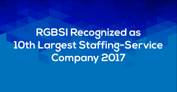 RGBSI 10th Largest Staffing Company for Social